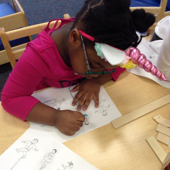 Handwriting Without Tears in Miss Marissa's Pre-K class.